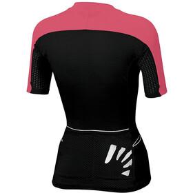 Karpos Pralongia Jersey Korte Mouwen Dames, paradise pink/black